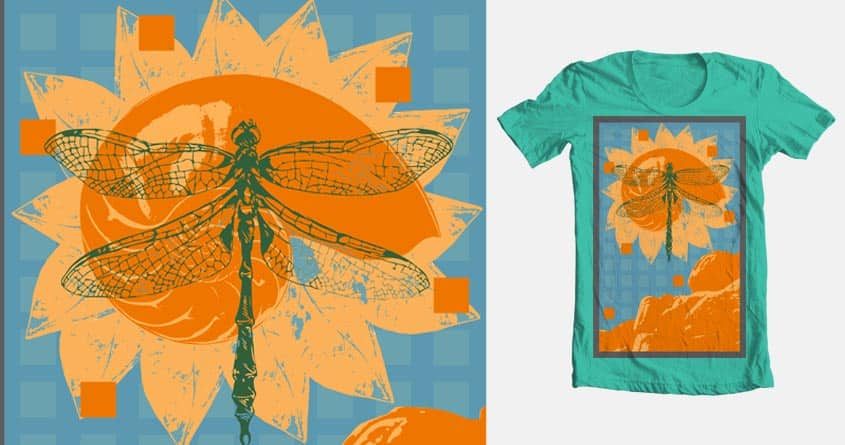 Dragon's Bloom by austinedwards on Threadless