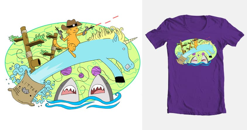 The Secret Lives of Supercats by jjgriffith on Threadless