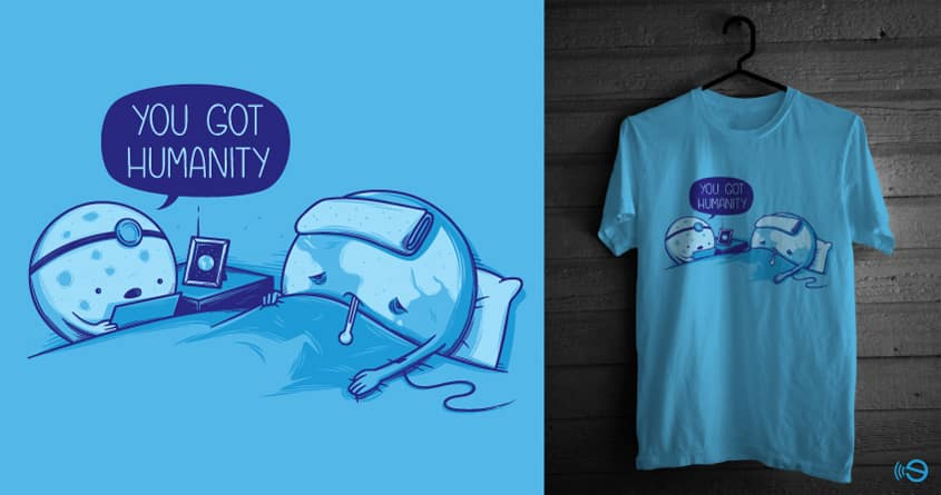 Humanity by gebe on Threadless