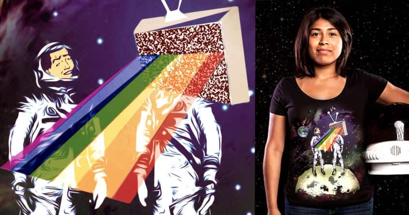 The Static Side of the Moon by ArTrOcItY on Threadless