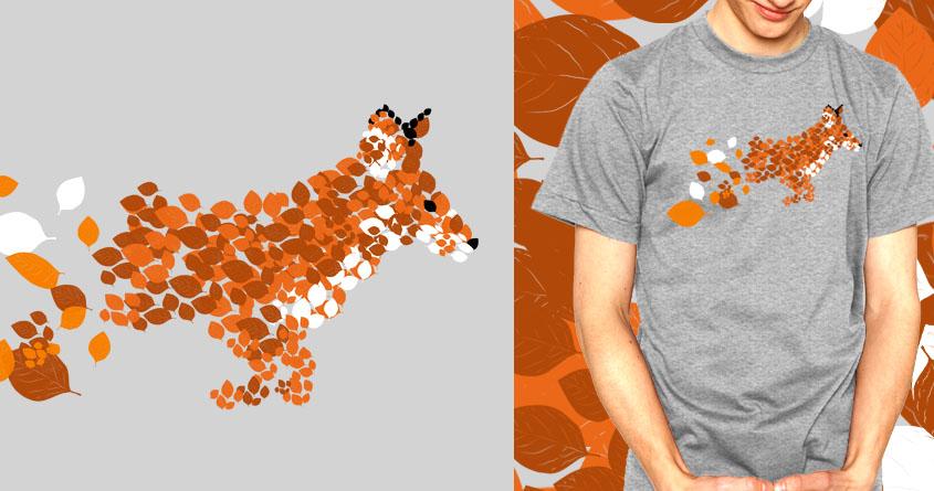 Autumn Fox by mainial on Threadless