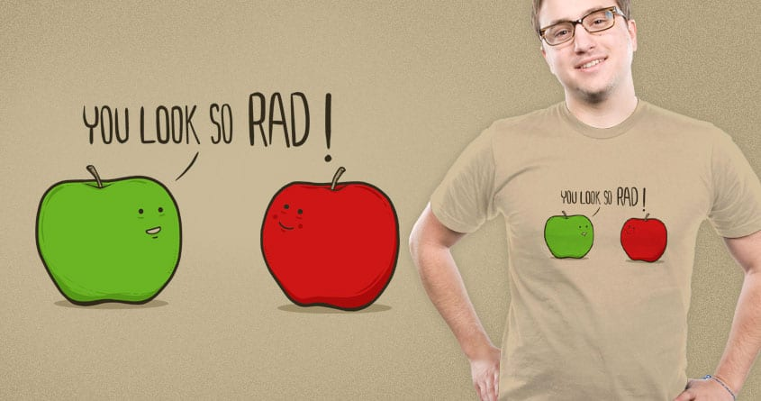 Rad Apple by eQuivalent and Shadyjibes on Threadless