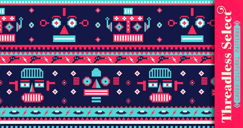 Navajobots by v_calahan on Threadless