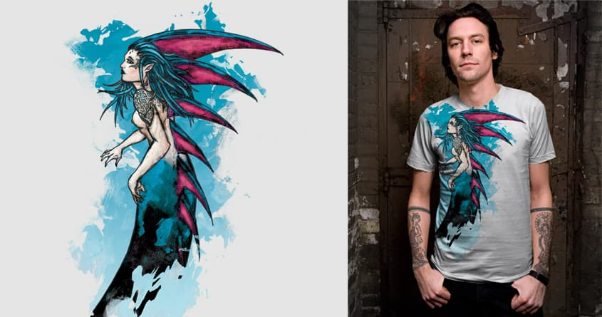 Mermaid by Outlaw01 on Threadless