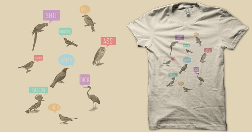 Fowl Language by coyote_alert on Threadless