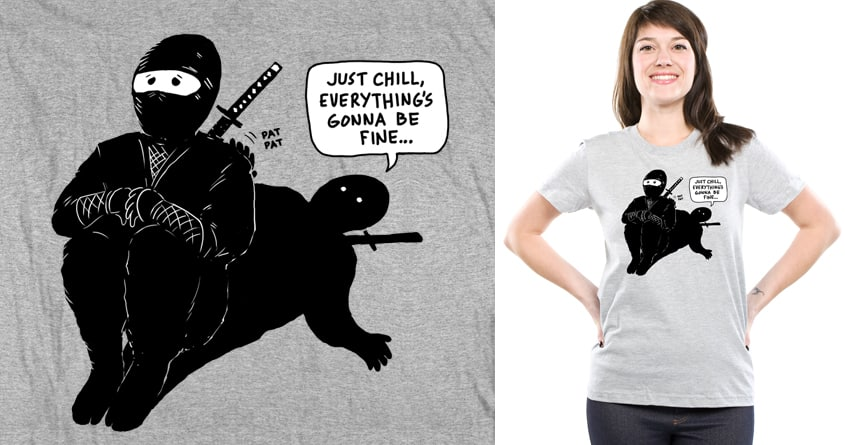 Alone Together by Doodle by Ninja! on Threadless