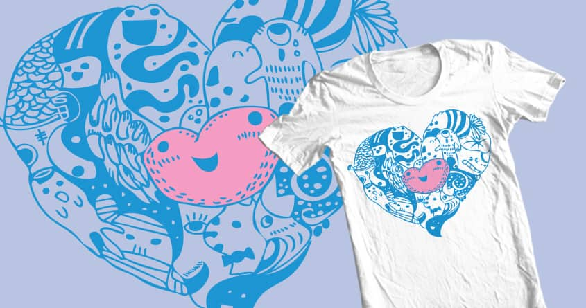 i have a doodle heart by qswitcho on Threadless