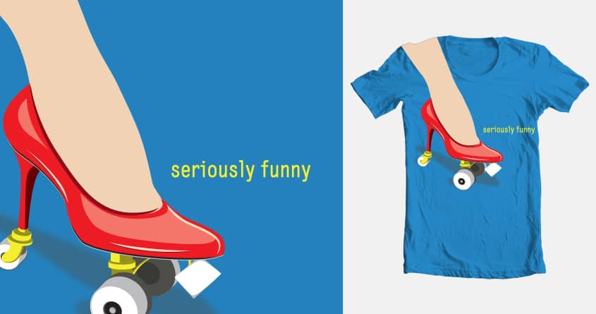 seriously funny by Marie Bois on Threadless