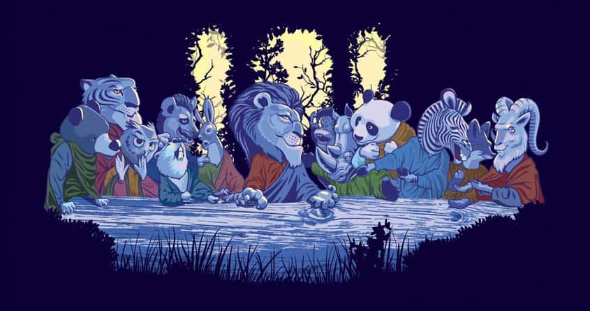 The Last Wild Meeting by artepedrojr and GMesquita on Threadless