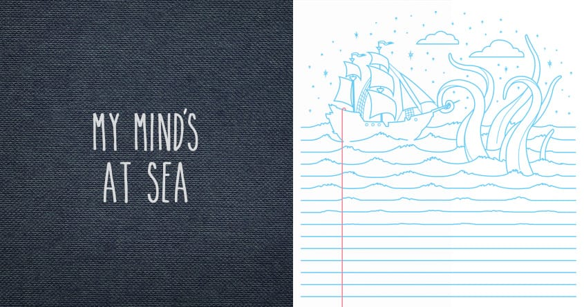 My Mind's At Sea by Gamma-Ray on Threadless