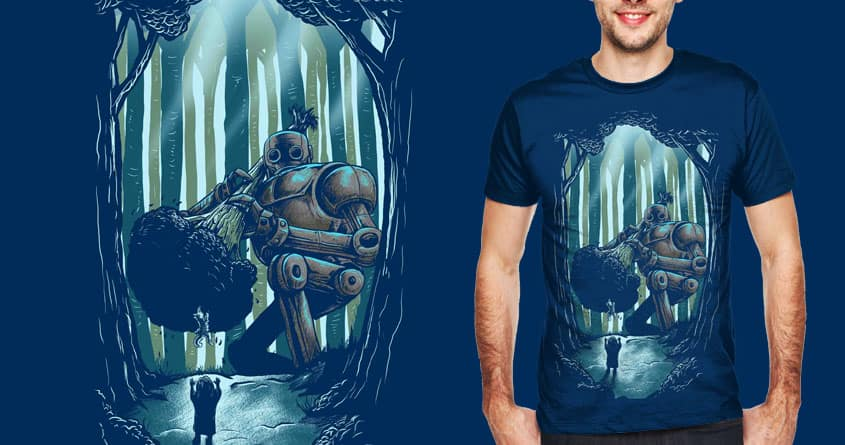 Not All Robots Are Bad Robots by goliath72 and bokien on Threadless
