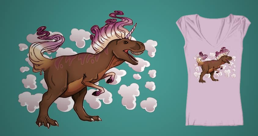 Unicornus Rex by Kay's Pants on Threadless