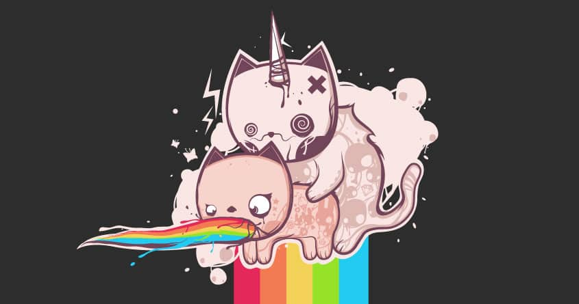 Rainbow Madness by KSAYER on Threadless