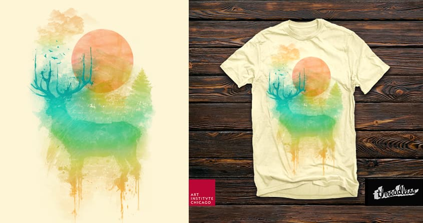 Nature Impression by roland.csavas on Threadless