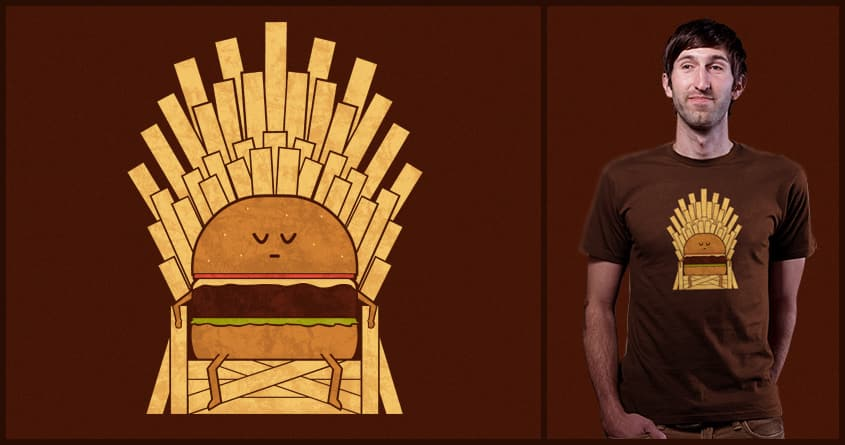 Game Of Fries by TeoZ on Threadless
