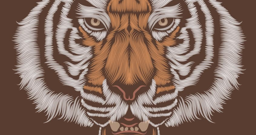 Le tigre by Patrick Seymour on Threadless