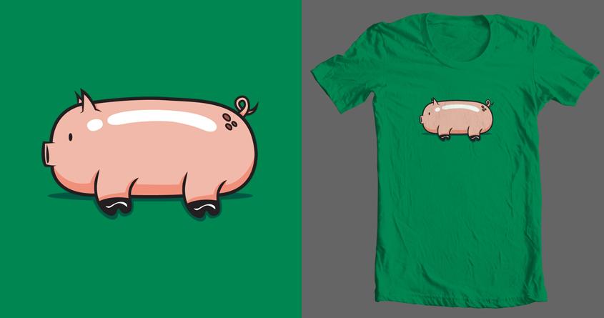 Pig by krisren28 on Threadless