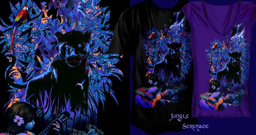 Jungle Serenade by radreb on Threadless