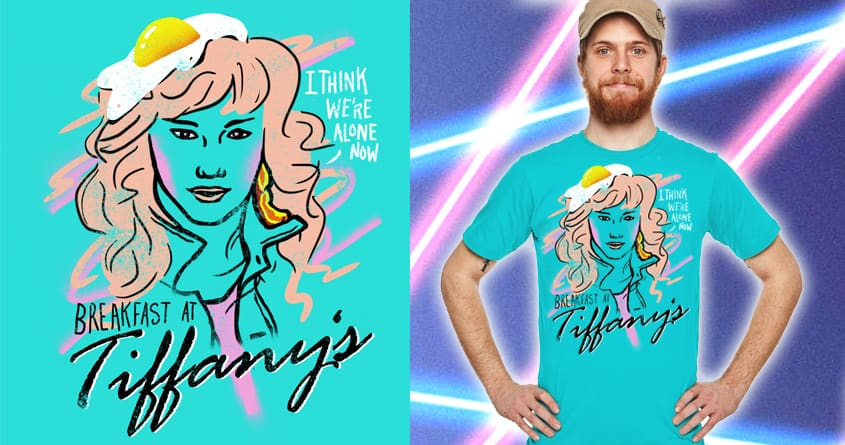 breakfast with tiffany  by campkatie on Threadless