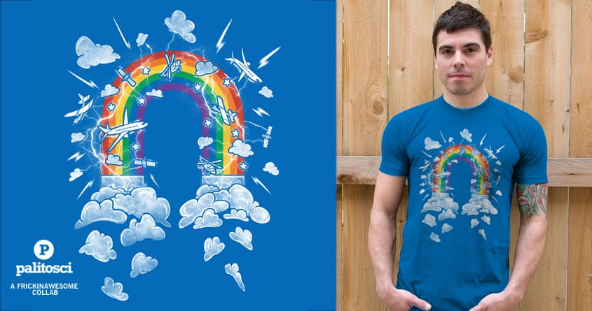 Reignbow by FRICKINAWESOME and palitosci on Threadless