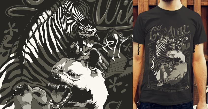 Wild Sessions by SPYKEEE on Threadless
