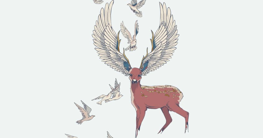 Freedom Wing by huebucket on Threadless