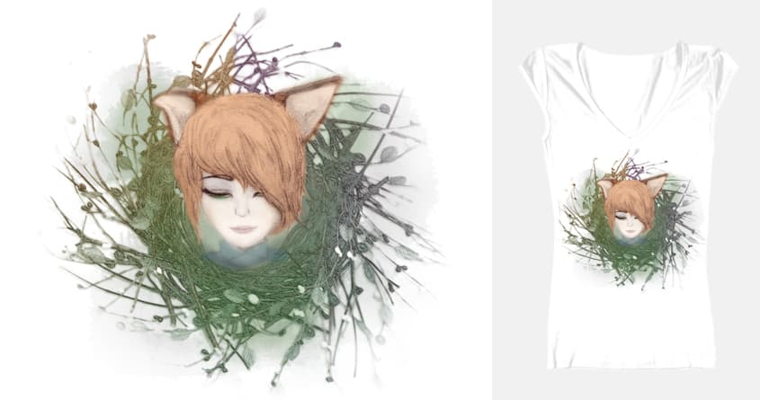 Miss Fox of the Woods by peilingbynite on Threadless
