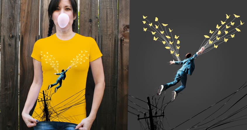 Escape the city by levman on Threadless