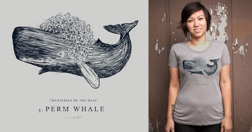 perm whale by campkatie on Threadless