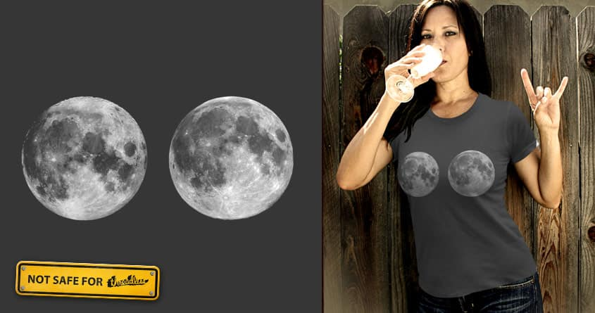 Moonboobs by quick-brown-fox on Threadless