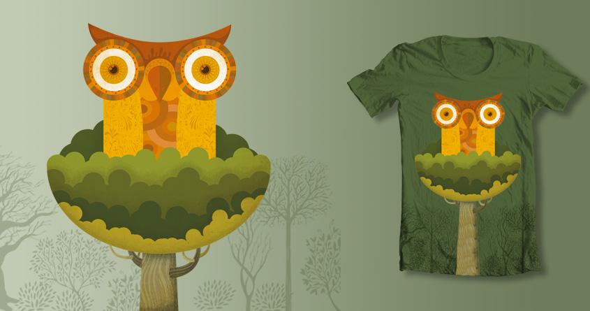 Insomniac owl by montt on Threadless