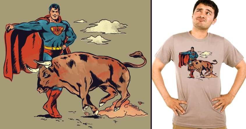 Matador of Steel by cpdesign on Threadless