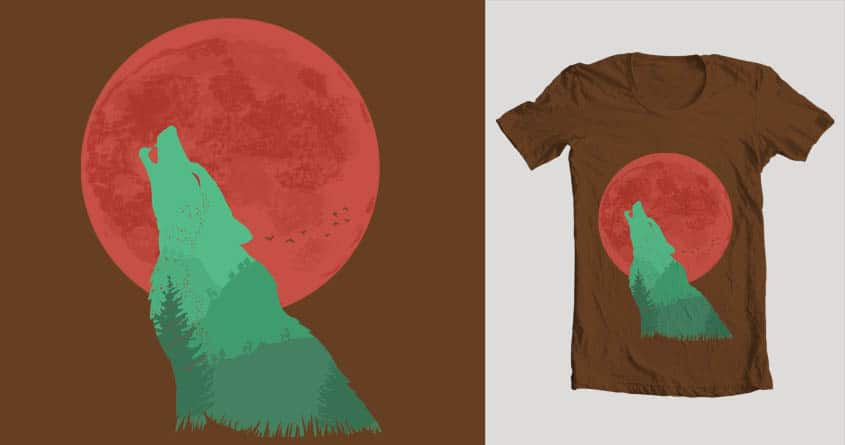 Mystical Forest by nanakse85 on Threadless