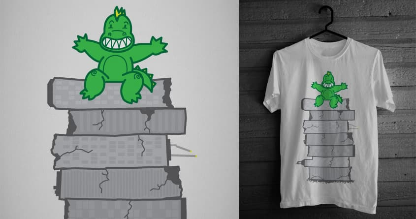 Look what I did! by speedyjvw on Threadless