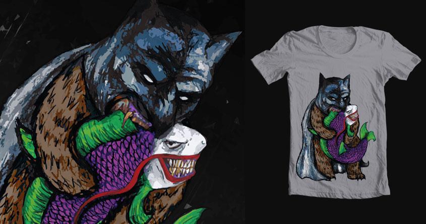 Batbear Vs. The Jokoi by edward.ejiogu on Threadless