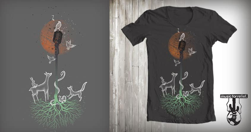 Let Nature Sing by jettact1 on Threadless