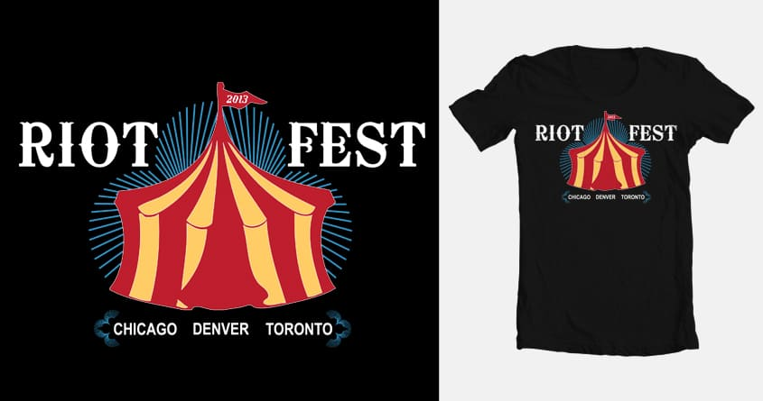 Riot Fest 2013 by Mandygon on Threadless