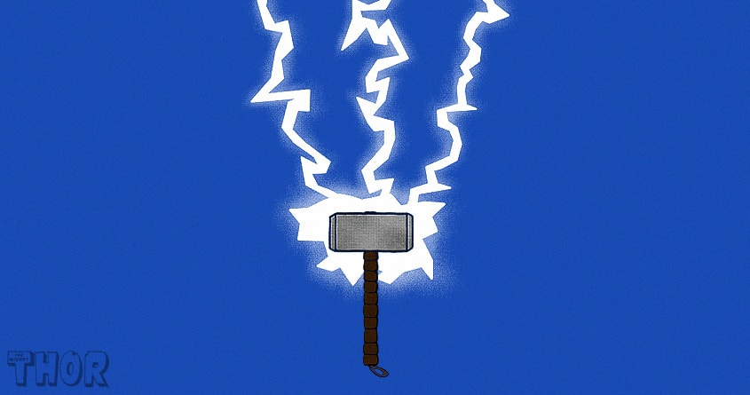 The Mighty Hammer by coyote_alert on Threadless