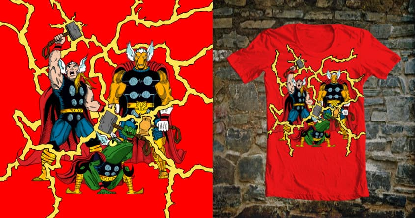 Might of Asgard by BC_Arts on Threadless