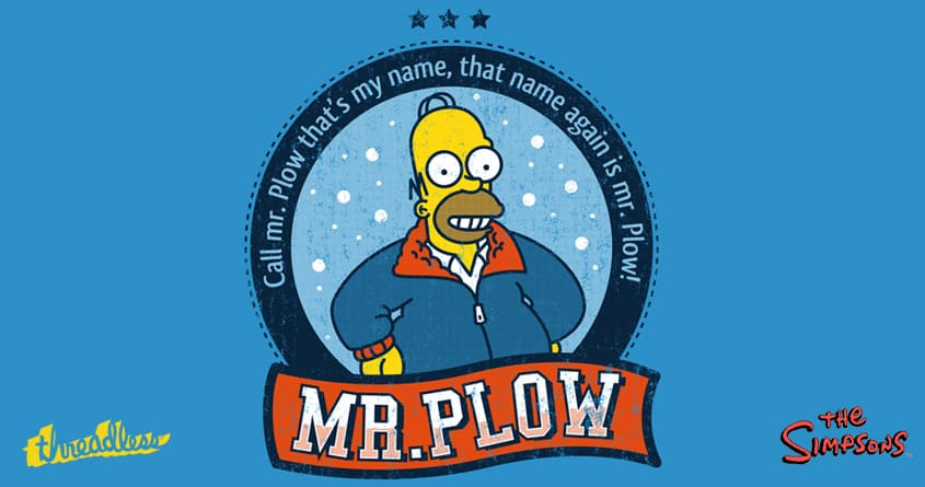 Mr. Plow by Melee_Ninja on Threadless