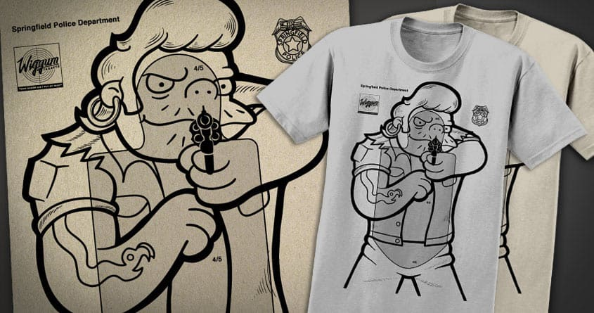 Hard Target by everything on Threadless