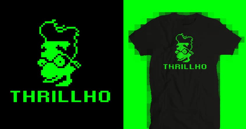 THRILLHO_ by Papaprime on Threadless