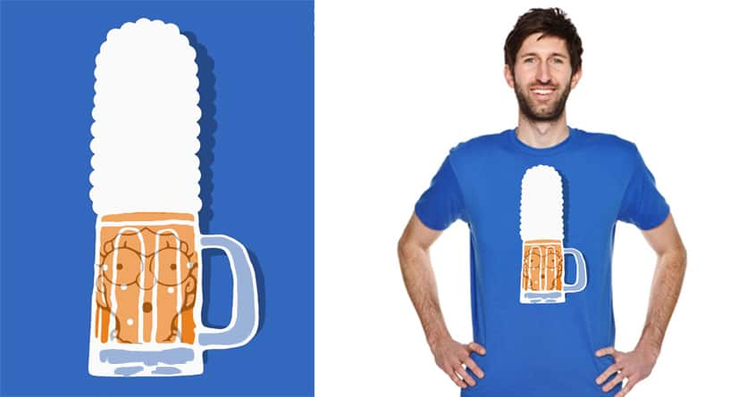 Marge, Beer Me! by ArTrOcItY on Threadless