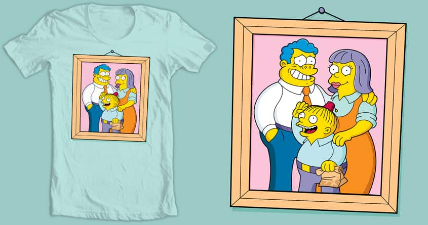 Wiggum Family Portrait by tomburns on Threadless