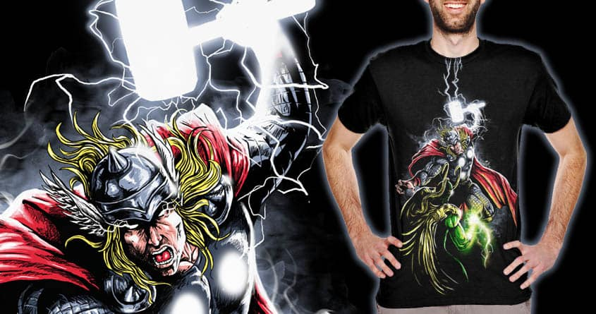clash of thunder brother by bokien on Threadless
