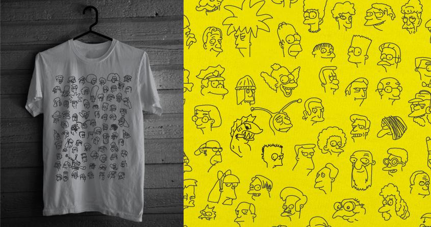 Springfield doodles by speedyjvw on Threadless