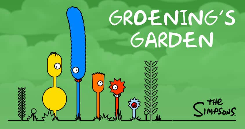 Groening's Garden by TMwG on Threadless