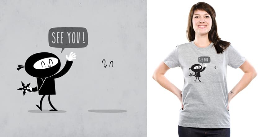 Ninja Paradox by weird&co and Shadyjibes on Threadless