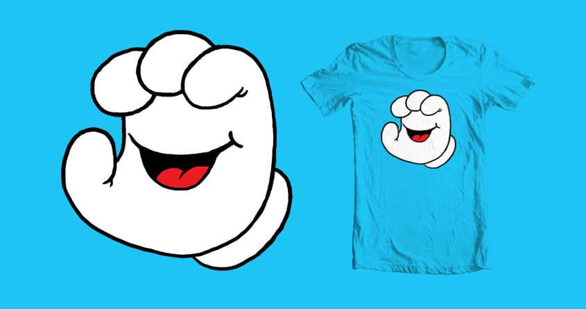 Squeaking Hand by tenso on Threadless