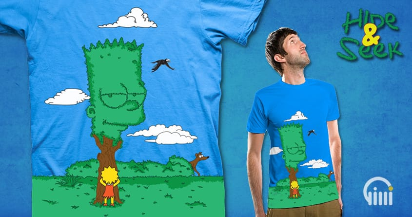 Hide & Seek by opippi on Threadless